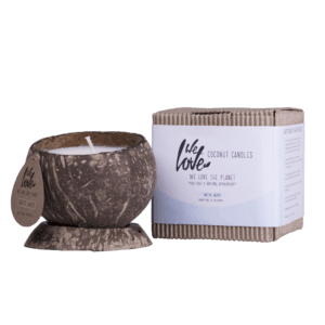 coconut candle arctic white
