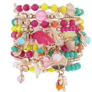 biba armbandenset multi colour
