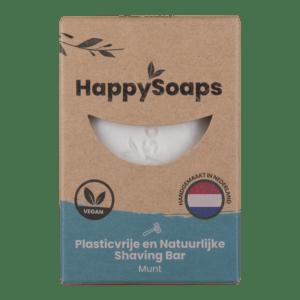 HappySoaps shaving bar munt