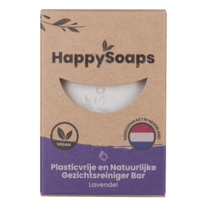 gezichtreinigerbar lavendel happysoaps