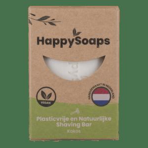 Happysoaps shaving bar kokos
