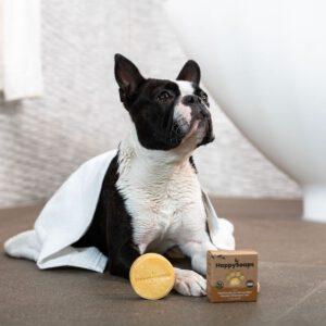 happysoaps honden shampoobar korte vacht